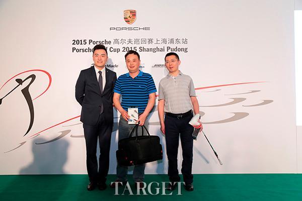 上海浦东Porsche中心见证2015 Porsche高尔夫巡回赛开杆